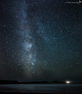 Milky Way from Whitesands Bay